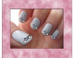 motorcycle nail art - Google Search