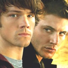 Mmm Dean and Sam from Supernatural :) is it any wonder I love this show for real?!