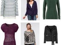 Damen Herbst Winter Mix Pullover Strickjacke... 1A