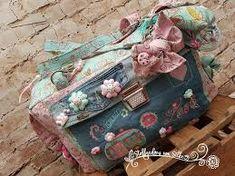 Bildergebnis für stoffgedöns von silke Suitcase, Lunch Box, Bags, Bento Box, Briefcase