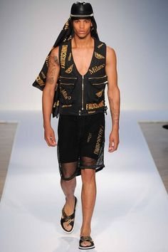 Moschino | Spring 2015 Menswear Collection | Style.com
