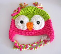 owl-cute idea if we have another girl, for newborn pictures