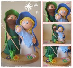 Belen en goma eva Realizado por Luciart www.facebook.com/luciartfofuchas