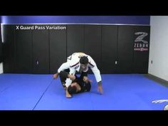In this video Leandro Lo teaches how to effectively pass the X Guard simple but very effective...