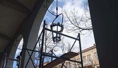 Συντήρηση των Βενετσιάνικων φαναριών από το Τμήμα Πολιτισμού του Δήμου Κέρκυρας Utility Pole