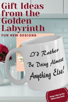 Great #giftideas for #him or #her - Trust the Labyrinth for fun #mugs #Tshirts and more. Visit today with just a click and check out the new designs.