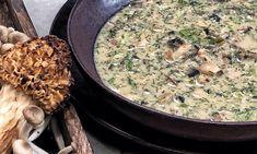 Μαγειρίτσα με μανιτάρια Συνταγή | Πάνος Ιωαννίδης Chef Risotto, Ethnic Recipes, Food, Drop Cloths, Essen, Meals, Yemek, Eten