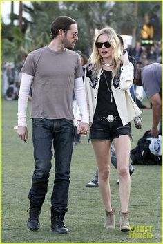 Kate Bosworth's Coachella 2012 style: western hipster.