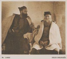 Επαναστάτες από τους Λάκκους της Κρήτης. Lakki. Deux insurgés. 1919  BAUD-BOVY…