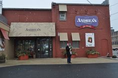 Andrea's Gifts and Jack's Cafe in Kenosha, Wisconsin