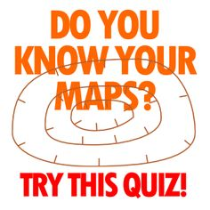 Think you know your maps? Can you identify these ten topographic symbols? Map Skills, Life Skills, Adventure Camp, Different Symbols, Outdoor Education, Scout Leader, Do Your Best, Scouting, Boy Scouts
