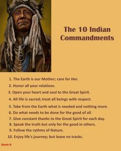 10 Indian Commandments                                                       …                                                                                                                                                                                 More