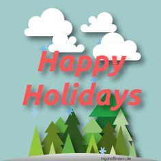 Weihnachtskarte mit flacher Optik mit Moho 12 animiert (früher Anime Studio). Anleitung zum nachzeichnen und animieren im Blog-Post! Happy Holidays, Poster, Studio, Logos, Anime, Xmas Cards, Tutorials, Projects, Ideas