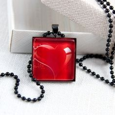 127 best glass tile jewelry tutorials images on pinterest diy easy to follow diy tutorial how to make a glass tile pendant with a tray aloadofball Image collections