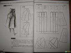 Design and style skirte--etekler - modelist kitapları