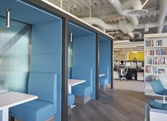 STUDIOS Architecture has recently developed the new offices of internet communications firm Neustar located in San Diego, California.