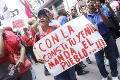 A. Pocas veces se celebraron elecciones en un contexto tan signado por la violencia como las de este domingo pasado en Venezuela. Hay pocas ex