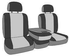 CalTrend Front Row 402040 Split Bench Custom Fit Seat Cover for Select Ford F150Lincoln Mark LT Models  DuraPlus Beige Insert and Black Trim >>> More info could be found at the affiliate link Amazon.com on image.