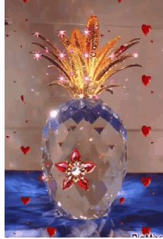 The perfect Pineapple Love Crystal Animated GIF for your conversation. Discover and Share the best GIFs on Tenor. Foto Gif, Gif Photo, Diamond Wallpaper, Flower Wallpaper, Gif Animé, Animated Gif, Beautiful Gif, Beautiful Flowers, Christmas Abbott