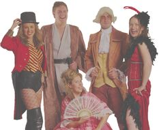 Selection of costumes for hire in bristol
