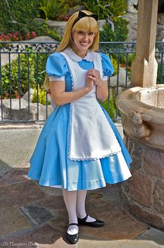 Alice In Wonderland costume.