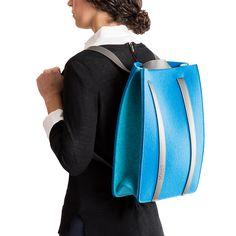 シンプルを絵に描いたような2WAYバッグ クノールのトートバッグ&リュックサック  KNOLL DEBUTS A LINE OF SMART FELT BAGS (3)