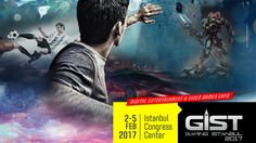 GIST Gaming Istanbul 2017 Opens Doors Today Istanbul, Gaming, Card Games, E3 2017, Video Games, Movies, Movie Posters, Events, Doors