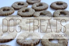 As promised, a dog treat recipe for the dog lover's on your list. This recipe is modified from this source .   *Note*  I've researched all ...
