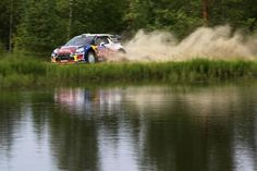 SS17: Duelling DS3 WRC/Michelins on Ouninpohja