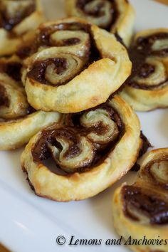 Nutella Orange Marmalade Palmiers | Lemons and Anchovies