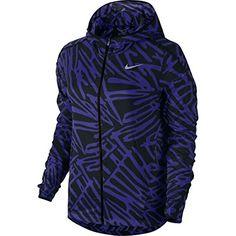 Nike Women's Palm Impossibly Light Jacket - Chalk Blue/Black - MED