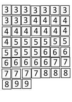 Después de haber practicado mucho en clase, he decidido incluir en el Rincón de las mates, las casitas de los números para que puedan de... Math Worksheets, Math Activities, Life Skills Classroom, School Frame, Teacher, Math Games, Bricolage, Math Problems