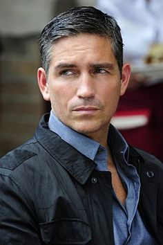 Jim Caviezel.  Especially dressed in a sharp suit like his character in Person…