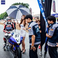 VOLTRONIC ZEUZ Racing Team debut at All Thailand Superbike Championship 2016 with Yamaha R1, R3 and R6.