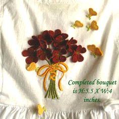 FS Flower Bouquet (Fits 4X4 hoop)-Sonia Showalter Designs