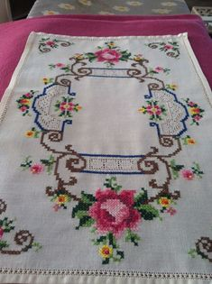 Welcome to Stitch with the Emb Sewing Stitches, Hand Embroidery Stitches, Crewel Embroidery, Vintage Embroidery, Cross Stitch Embroidery, Embroidery Patterns, Cross Stitch Patterns, Fall Cross Stitch, Cross Stitch Pillow