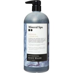Buy Lavender & Charcoal Body Wash at TK Maxx Aloe Vera Vitamin, Body Cleanser, Tk Maxx, Body Wash, Vodka Bottle, Charcoal, Lavender, Favorite Things, Spa