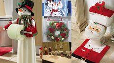 Navidad: Decoración de baños