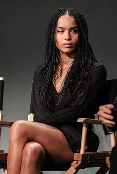 braided hairstyles easy hairstyles buns hairstyles with bangs hairstyles jamaica hairstyles with curls braided hairstyles hairstyles nigeria braided hairstyles Shaved Side Hairstyles, Mohawk Hairstyles, Hairstyles With Bangs, Hairstyles 2018, Evening Hairstyles, Homecoming Hairstyles, Zoe Kravitz Braids, Zoe Kravitz Style, Zoe Isabella Kravitz
