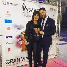 La genial actriz Maribel Salas con total look #mercedesdemiguel #FallWinter 15/16.