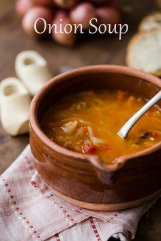 Onion Soup, Italian style // platedujour