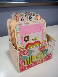 alphabet nesting boxes - Google Search
