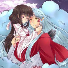 Inuyasha Kawaii Cute Anime Boy And Girl Love Liebe Parchen Kawaii Niedlich Suser Anime Junge