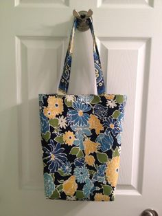 Bag for my Grandmomma! Complete with a pocket inside for her glasses.