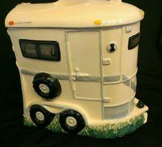 Montana Silversmiths Horse Trailer Cookie Jar