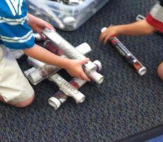 Build with Newspaper Rolls (Brick by Brick)