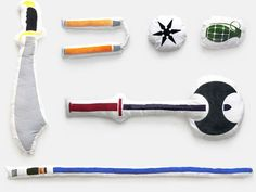 Weapon Pillows - Pillow fights have never been more AWESOME.