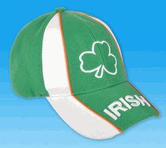 cfedca12d1b59 Shamrock Baseball  Cap-An Irish fashion accessory for St. Patrick s Day  Irish Fashion