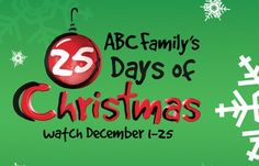 ABC Family's 25 Days Of Christmas Marathon Schedule