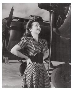 Margie Stewart - a WWII era actress and Army poster girl.